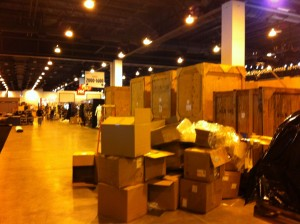 trade show deliveries